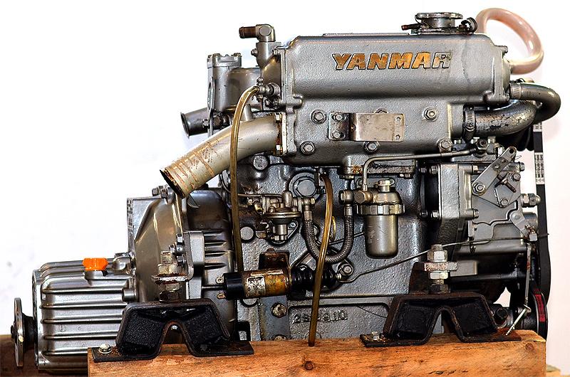 Yanmar 3gm30 94 Dieselengine Rebuilt Volvo Penta